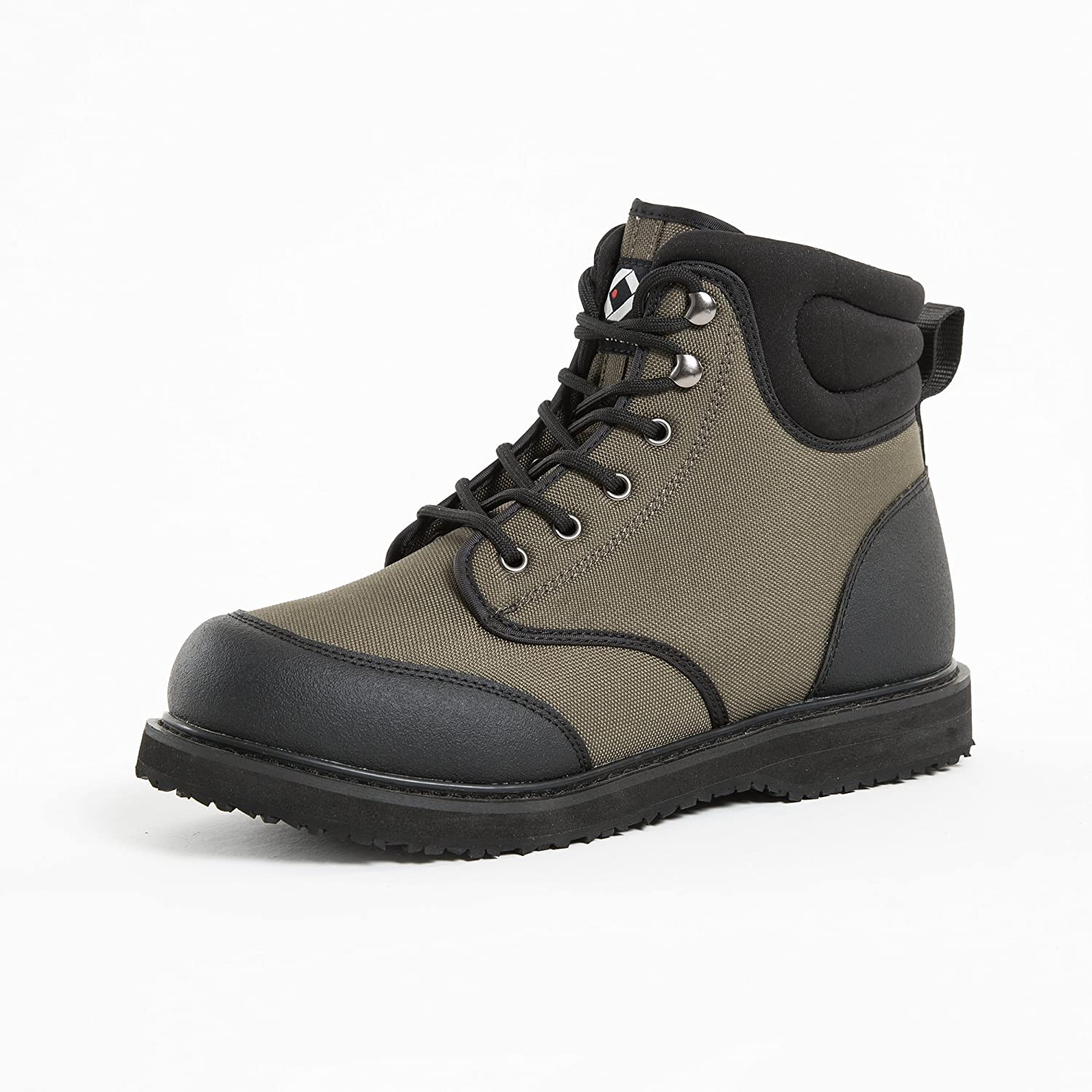 Saltwater rubber wading boots