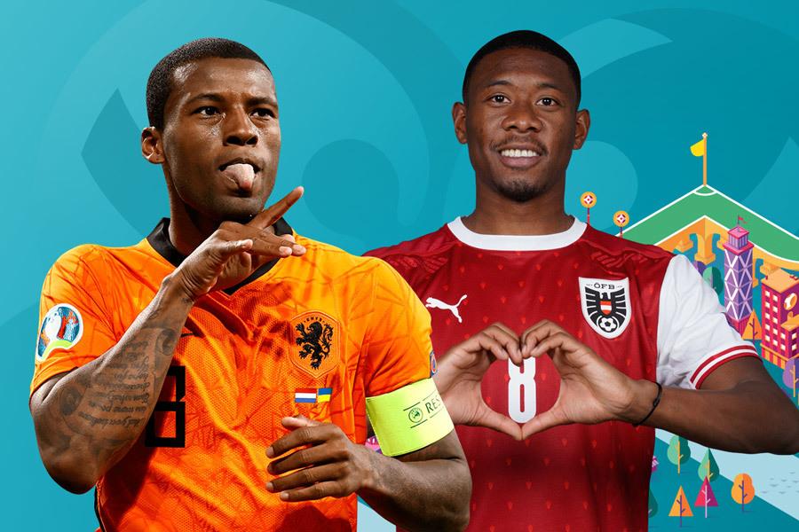 Lịch truyền hình trực tiếp EURO Hà Lan vs Áo