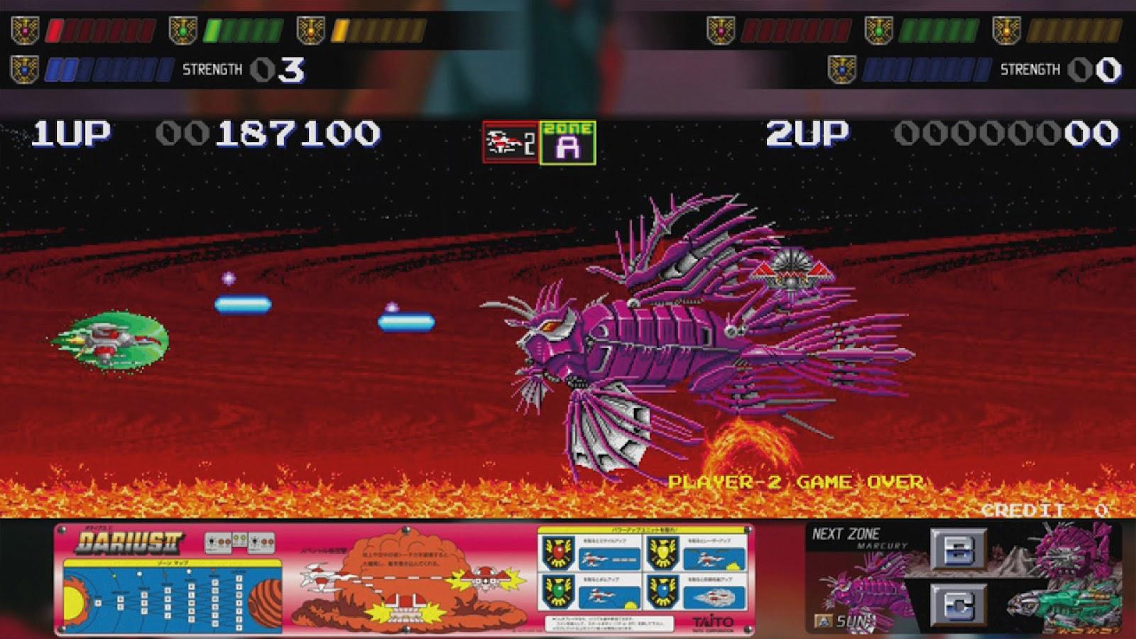 Arcade collection screen 2