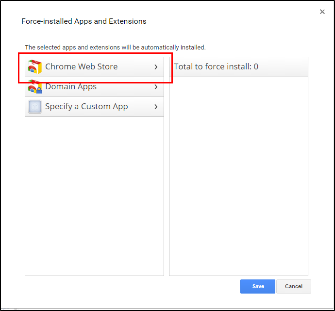 How to deploy apps and extensions through the Google Admin