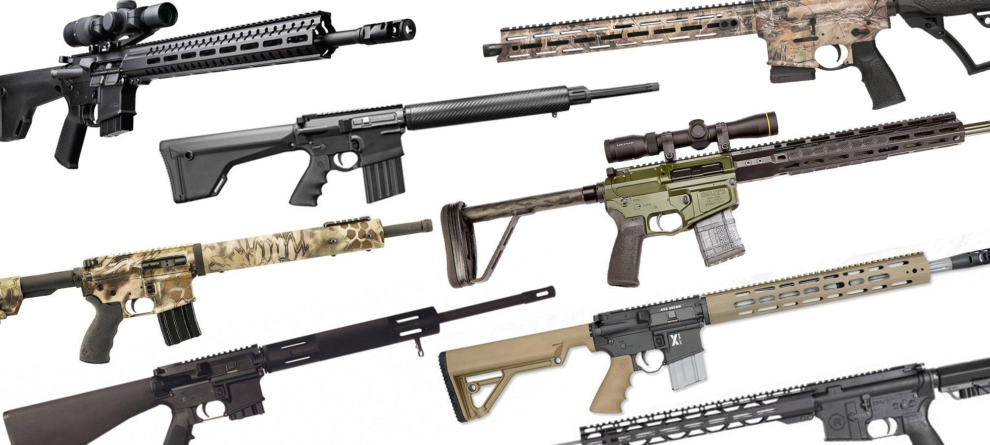 Best AR Rifles for Big Game Hunting