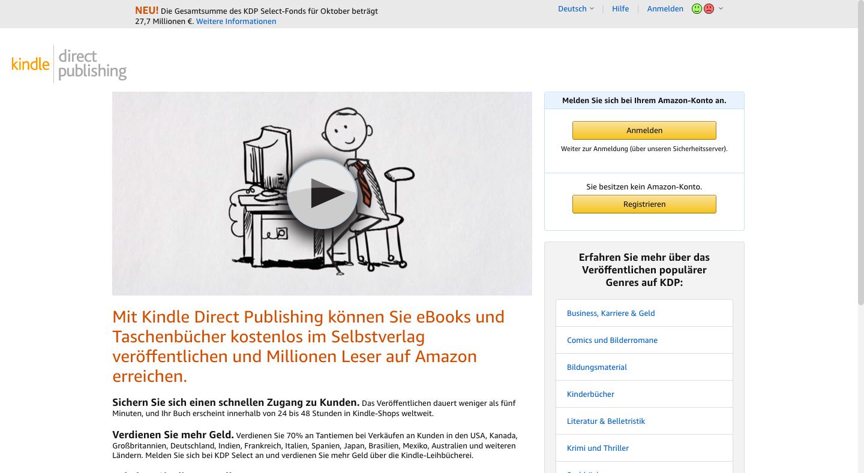 Mit Amazon Kindle Geld verdienen