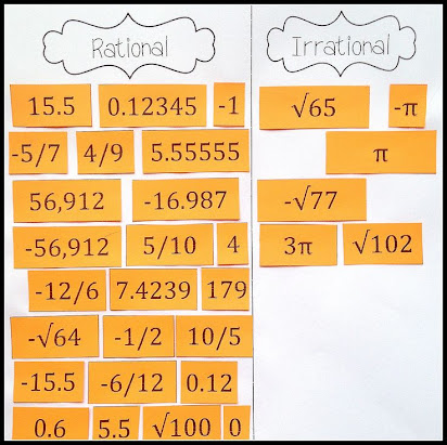 Essay On Rational And Irrational Numbers