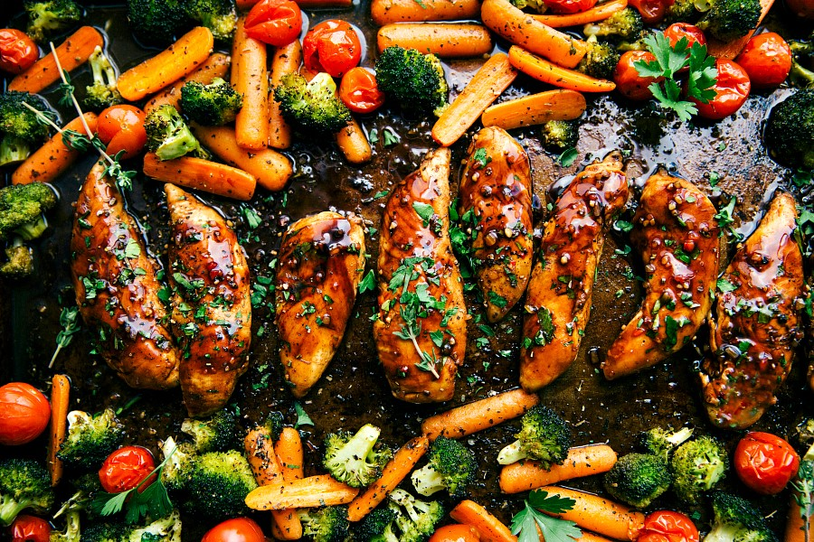 Sweet-Balsamic-chicken-and-veggies-made-in-one-pan.-Ten-minute-prep-and-twenty-minute-cooking-time-this-meal-is-efficient-healthy-and-simple-to-make-via-chelseasmessyapron.com_.jpg