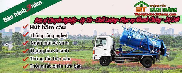 Dịch vụ thông bồn cầu tại xã Tam Thôn Hiệp BT online