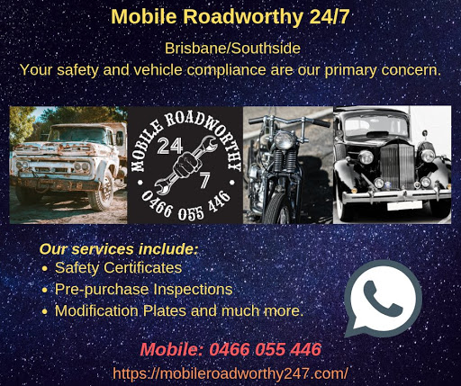 Mobile Roadworthy 24/7 - Mobile Roadworthy, Safety Certificates