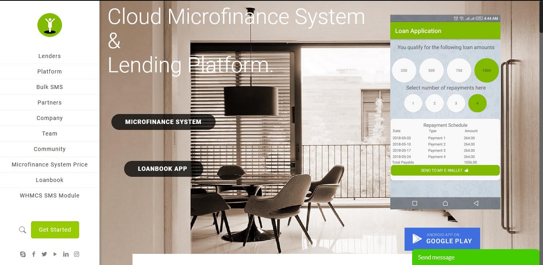 Digital Lending Platform: Jisort home