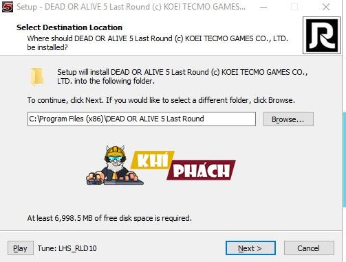Cài đặt Dead Or Alive 5 - Last Round Full PC cực đơn giản.