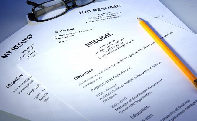 role of resume is in today's job