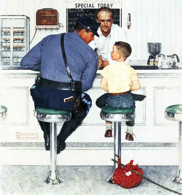 The Runaway Norman Rockwell