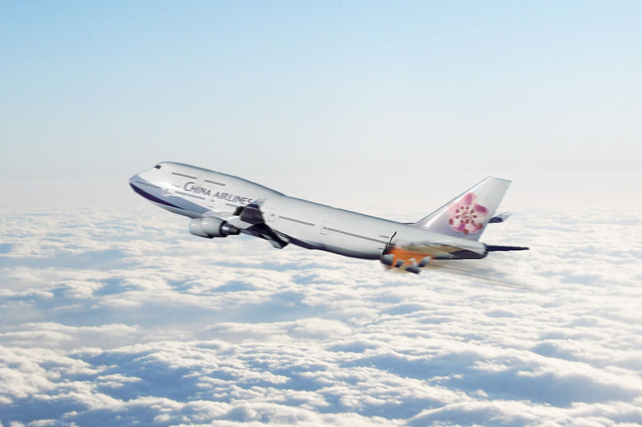 File:China Airlines Flight ...