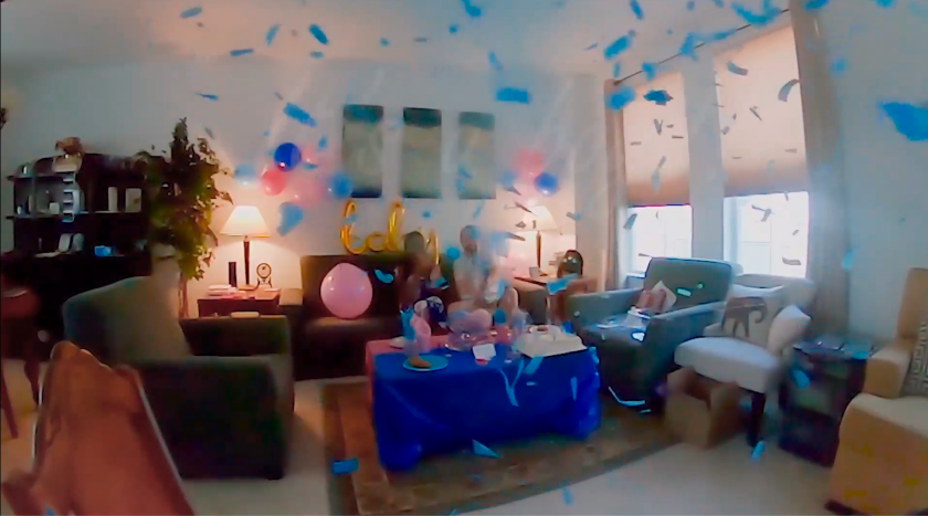 Our virtual gender reveal Patience & Pearls
