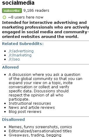 reddit best practices