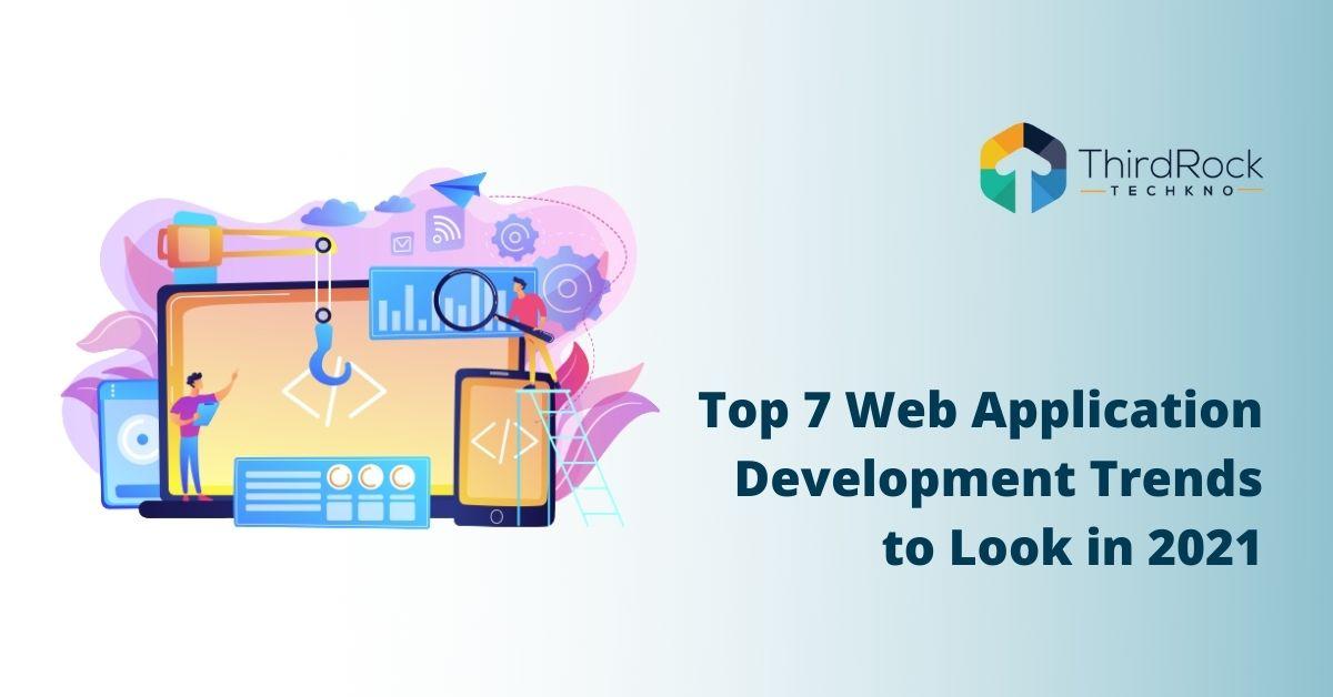 Web application development trends