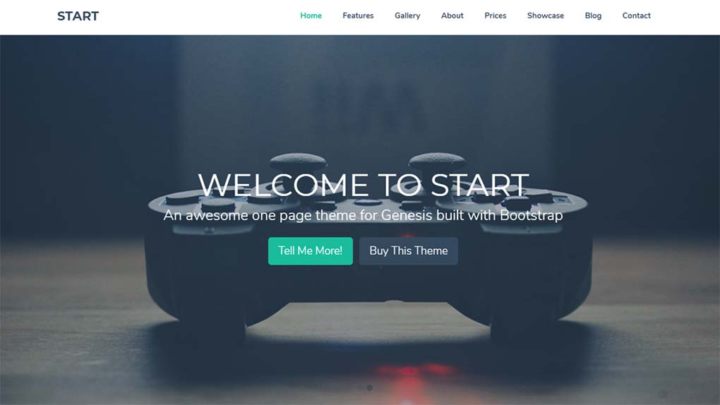 child theme start para wordpress