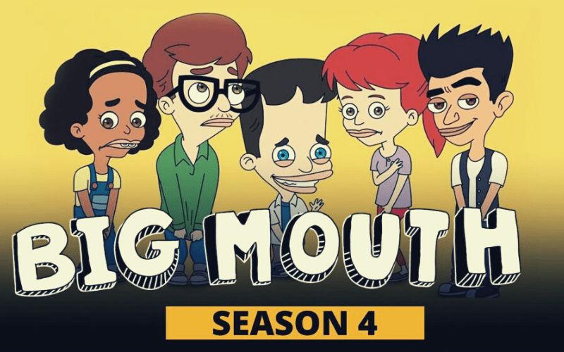 Big Mouth Season 4 poster top 10 new web series
