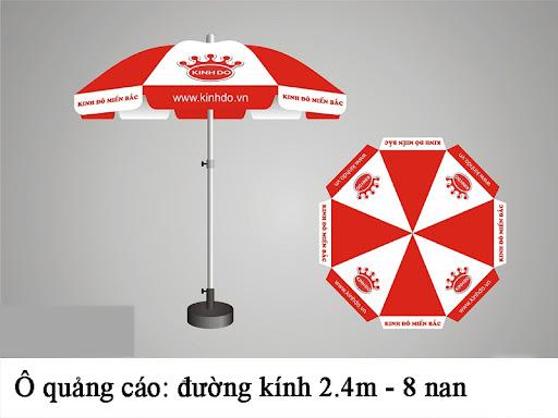 Tại sao nên chọn ô dù quảng cáo ngoài trời tại Mạnh Phát?