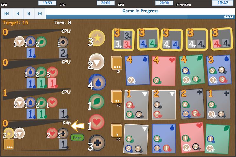 Spendee - Inspired by Splendor - Online Board Game
