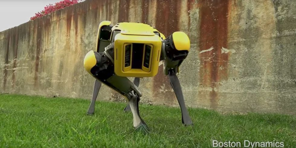 Boston Dynamics' New Robot Dog Is the Slimmest, Sleekest Yet