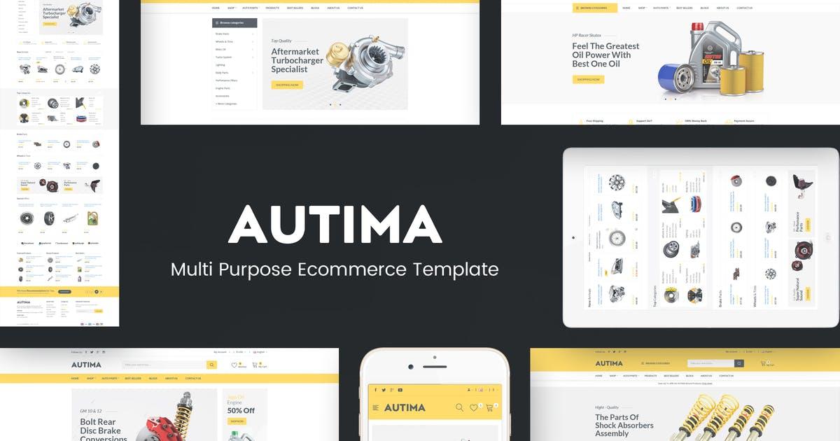 Autima - Car Accessories Prestashop Theme Free Download