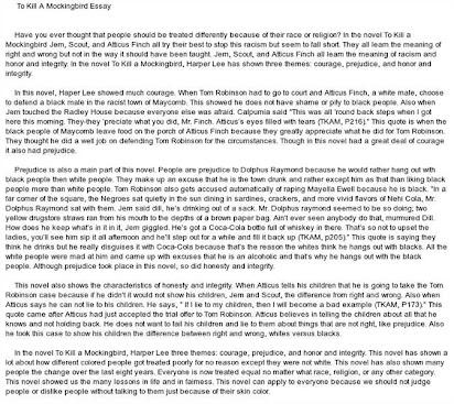 To kill a mockingbird courage and cowardice essay