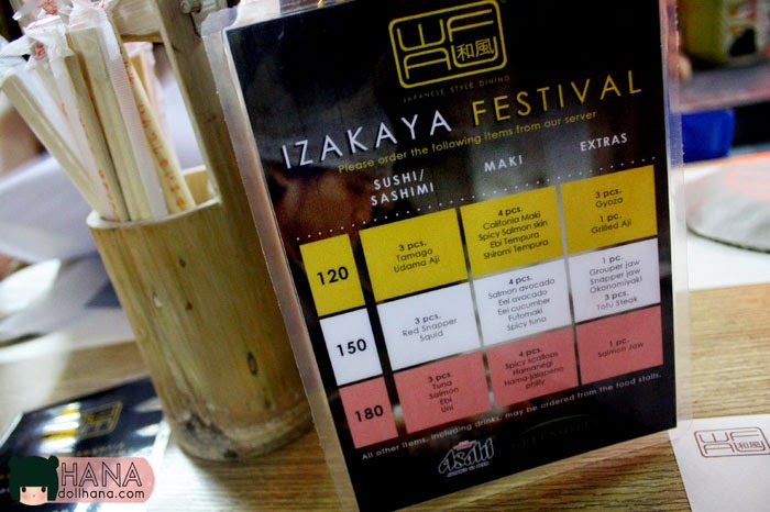 japanese greenhills wafu izakaya festival outdoor street food