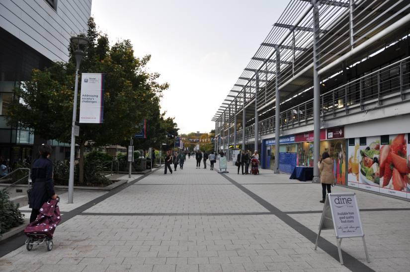 Campus de la Universidad de Brunel