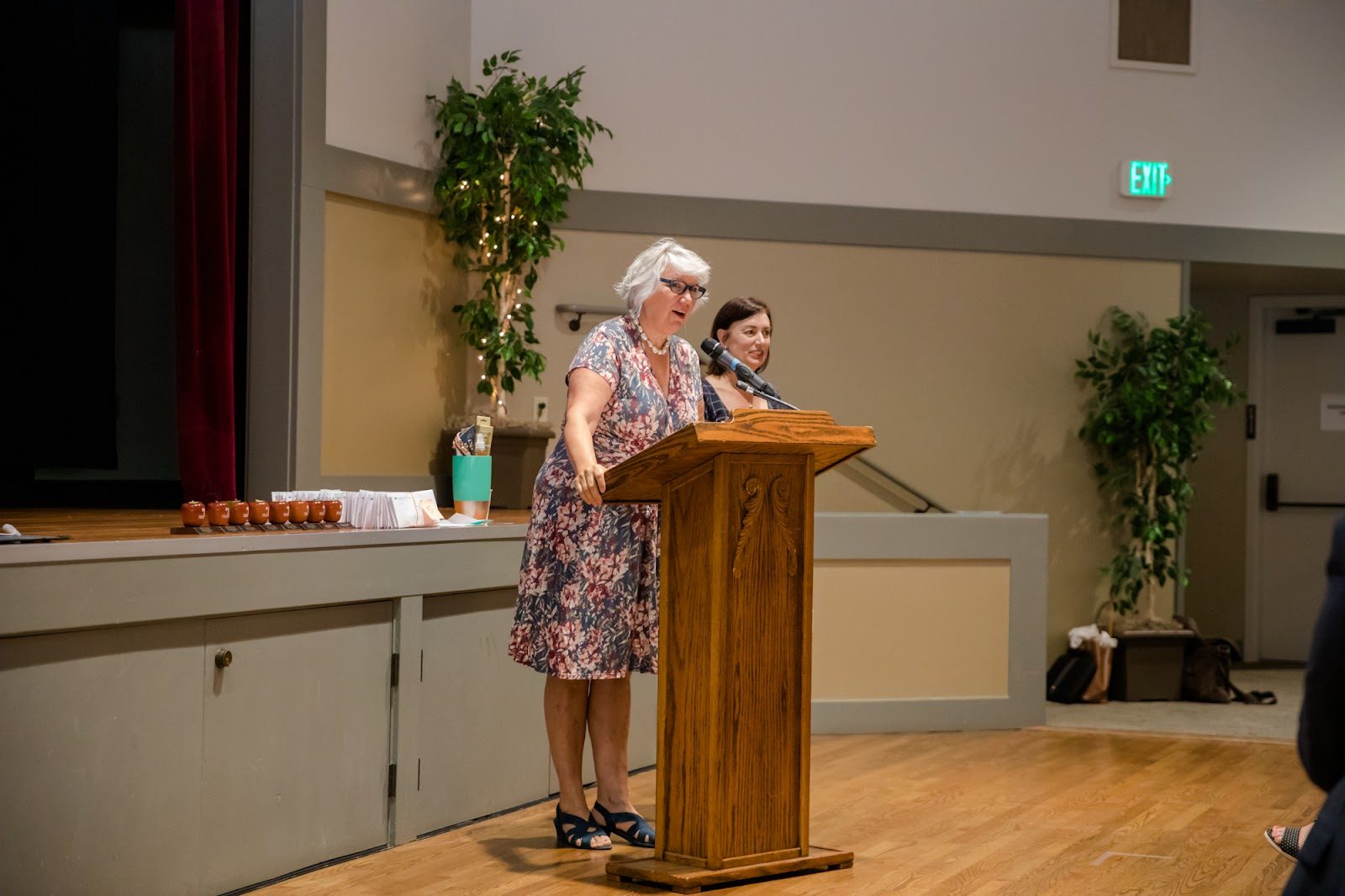 Board president and superintendent