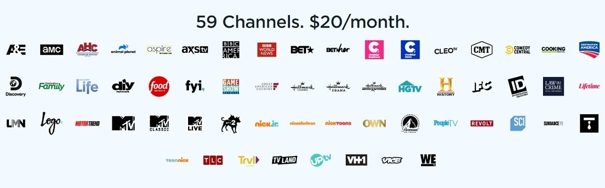 Philo TV local channels