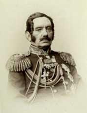 Генерал русской армии Безак