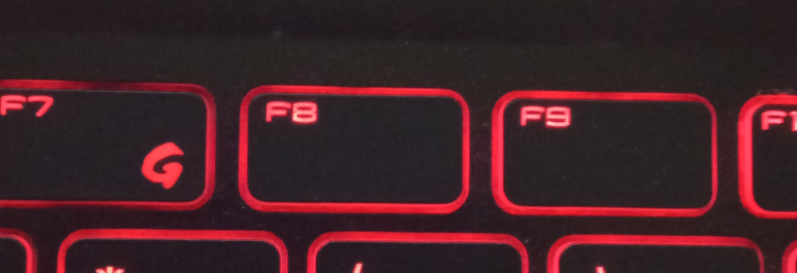 F8 button
