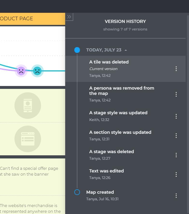 UXPressia version history