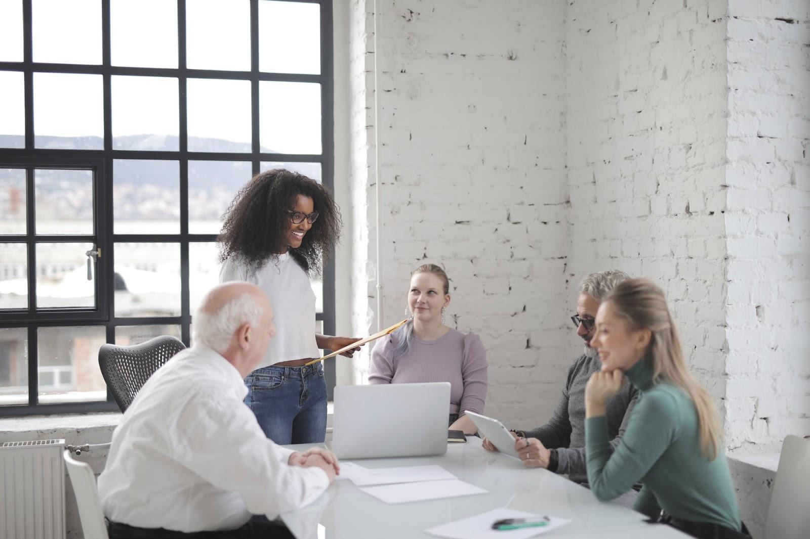 colaboração entre profissionais