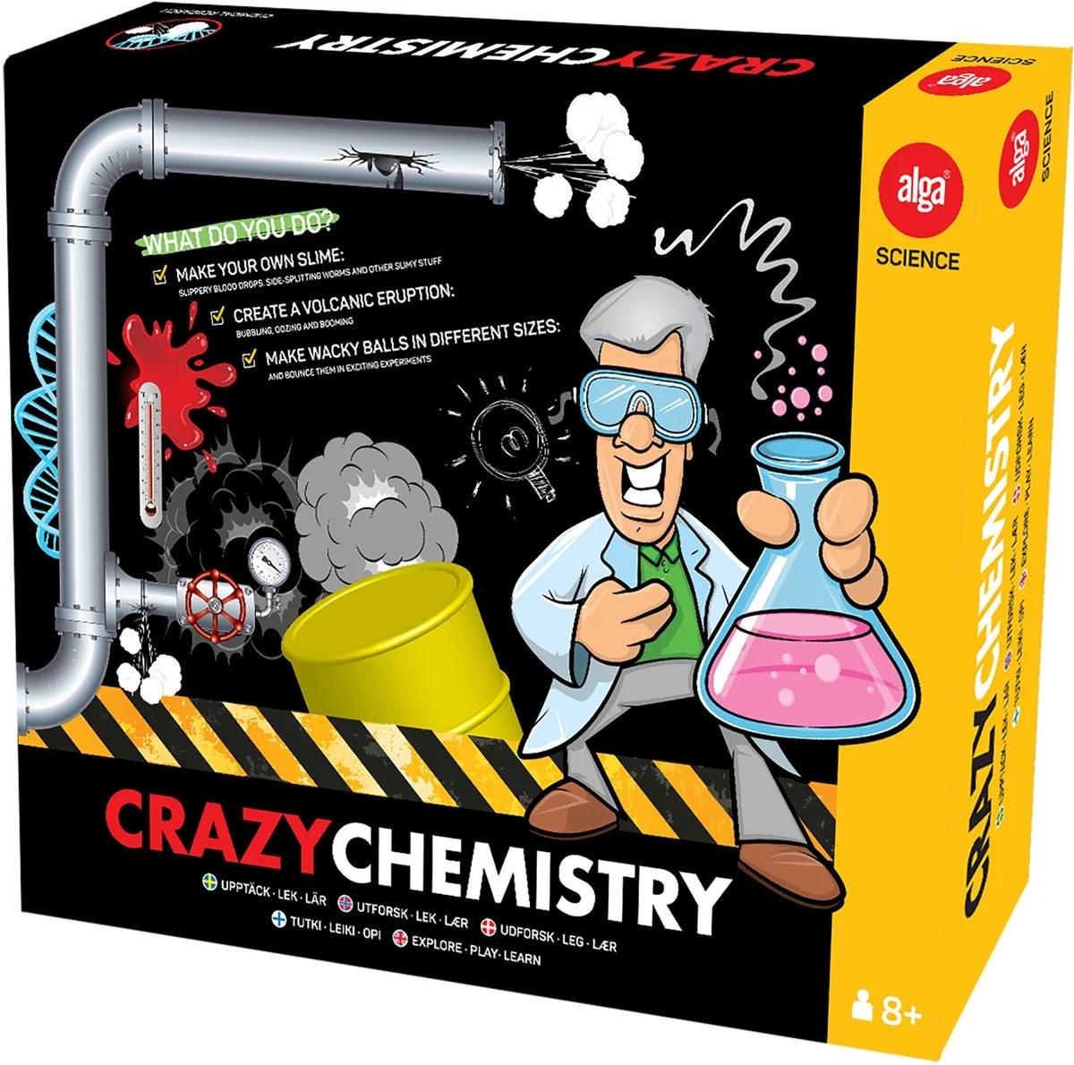 Bubblare 1: Alga Experiment Crazy Chemistry