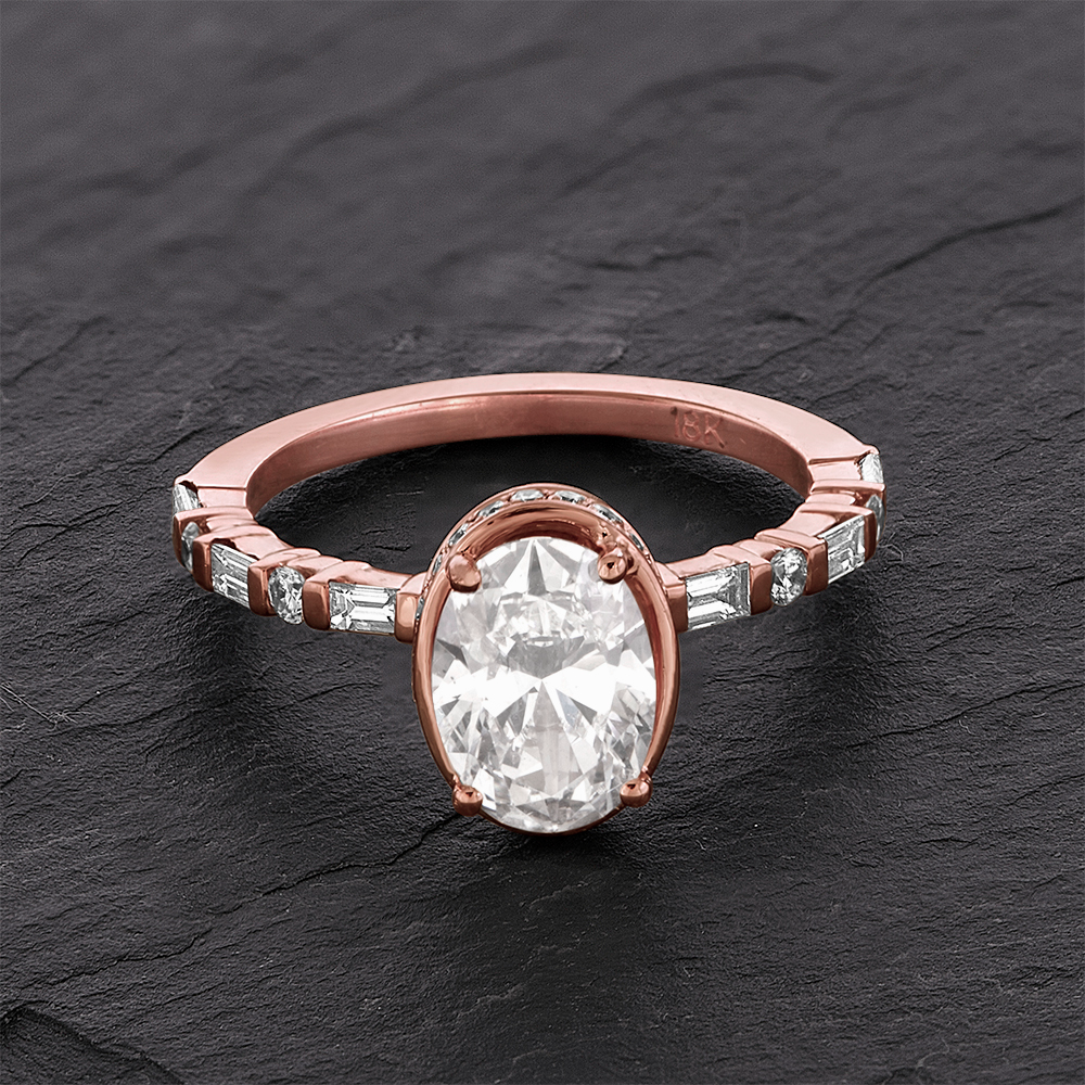 I Have To Put My Newly Engaged Sister S Ring At The Top Of List Designed This Specifically With Rose Gold In Mind Tint Bounces Off