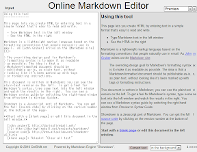 Online Markdown Editor by CtrlShift