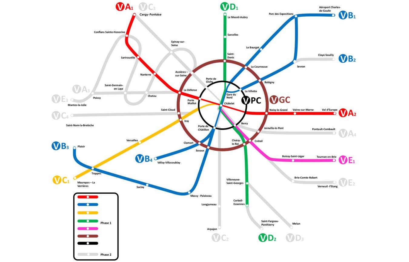 RER V : à quoi ressemblera la future autoroute du vélo ?