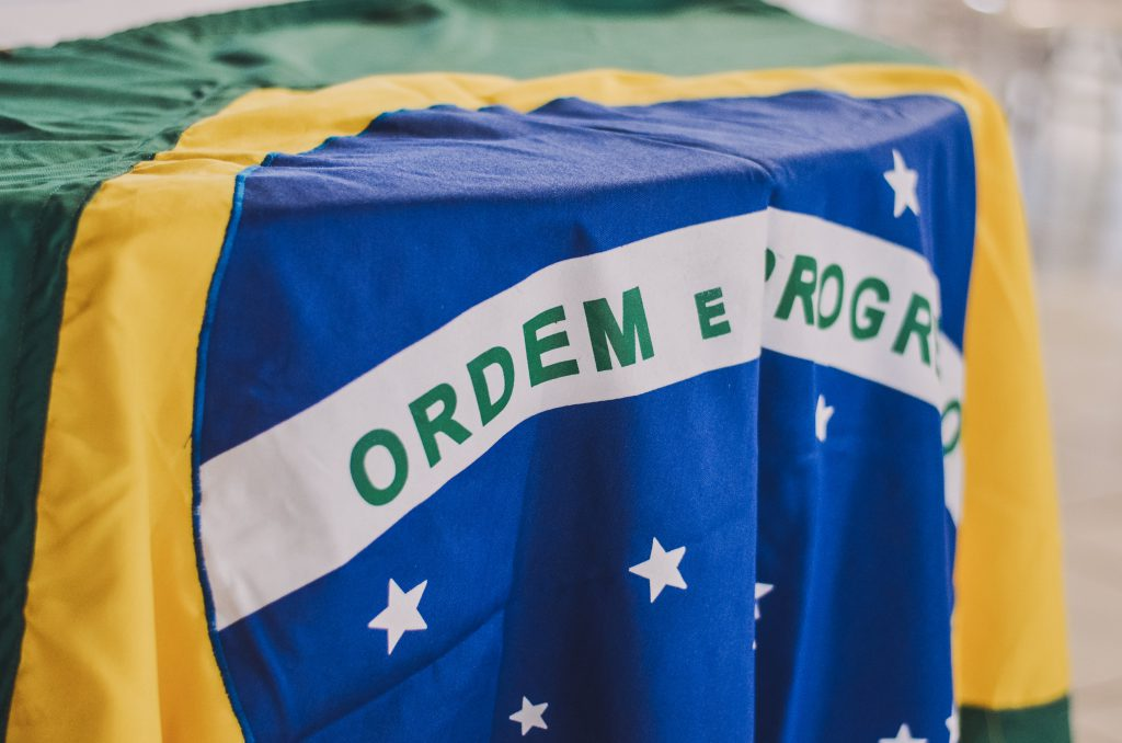 Brazilian flag, 巴西咖啡Photo by Rafaela Biazi on Unsplash