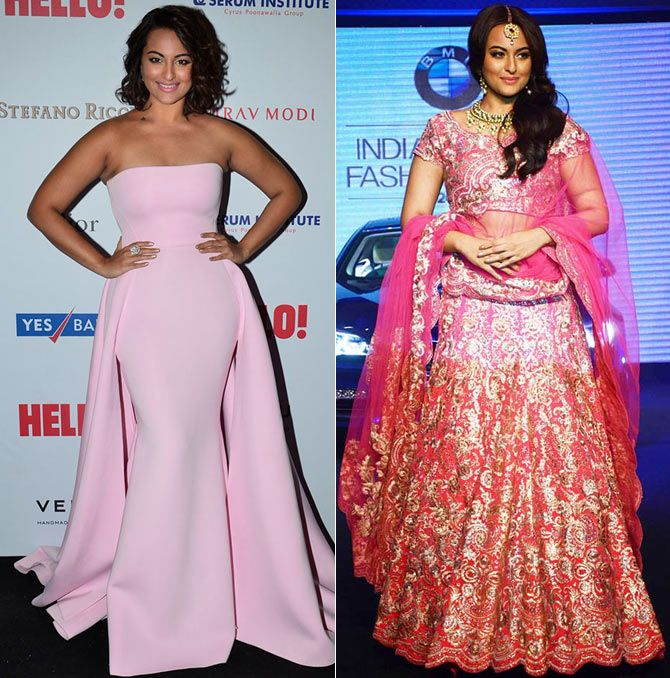 Bollywood actresses Indian Vs Western Fashion