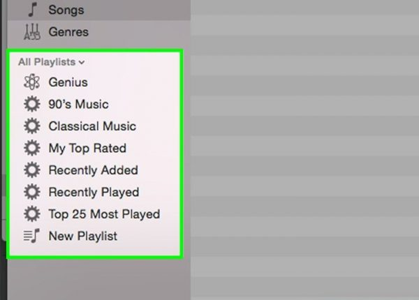Playlists are an important part of iTunes that you can manage well