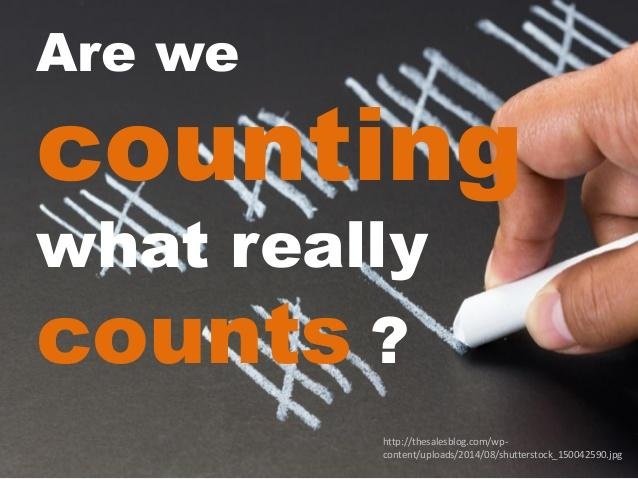 Counting what Counts in Contact Centres - A Course Introduction
