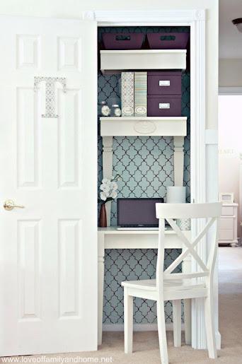 thiết kế góc bàn làm việc ấn tượng và độc đáo, thiết kế bàn làm việc, thiết kế nội thất gia đình