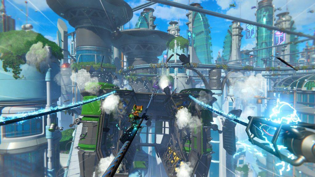 """รีวิวเกม """"Ratchet And Clank: Rift Apart"""" บนเครื่อง PlayStation 5 ที่ได้รับคำชมและกำลังมาแรงเป็นอย่างมากในตอนนี้ ! 08"""