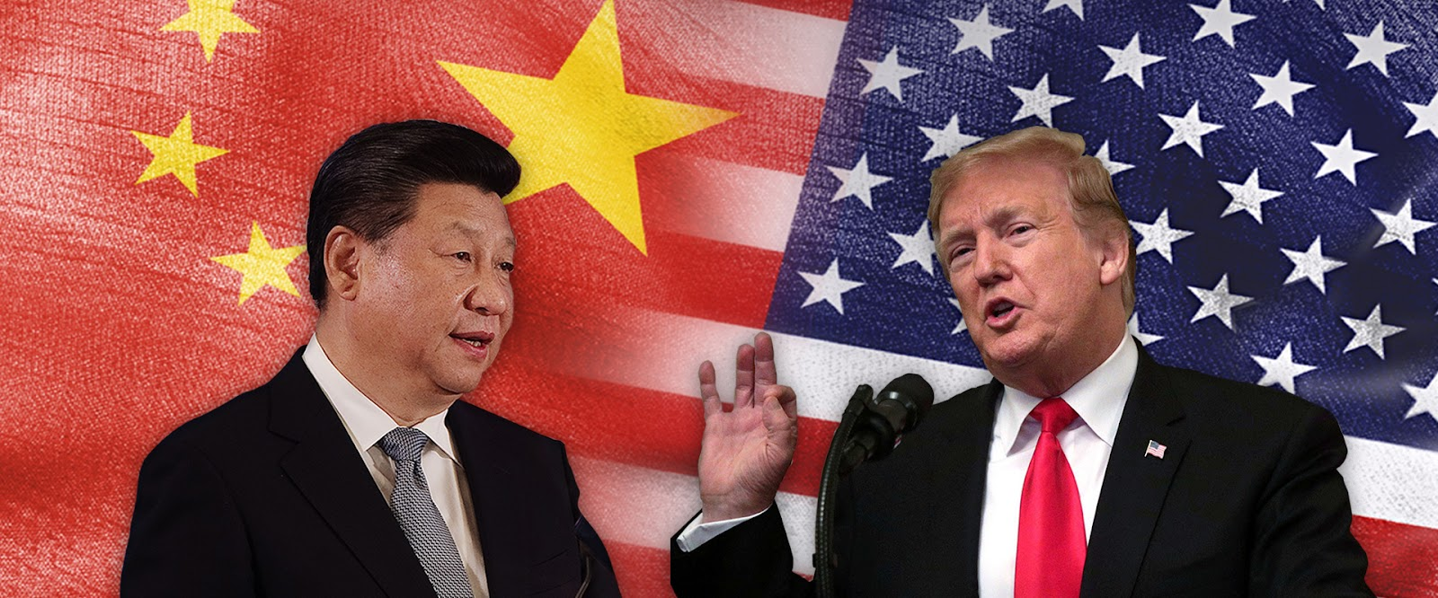 Chiến tranh thương mại giữa Mỹ và Trung Quốc.