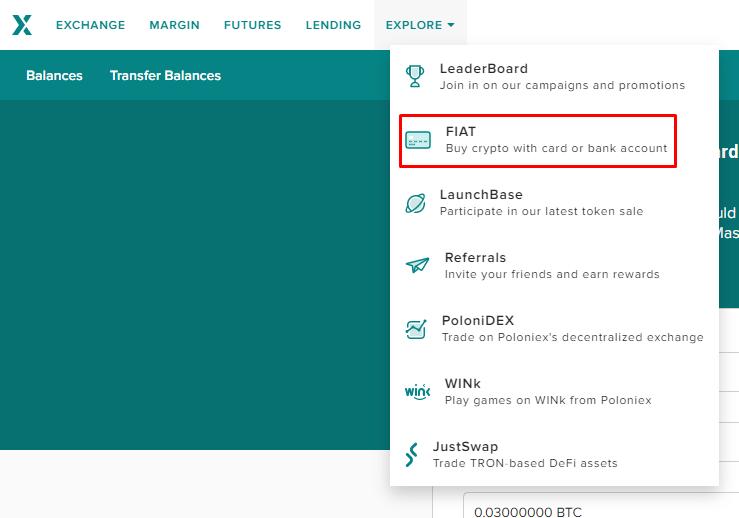 Ethereum kaufen auf Poloniex