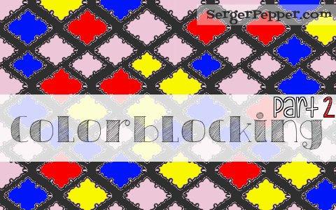 Serger Pepper How to create Colorblock Basic Leggings