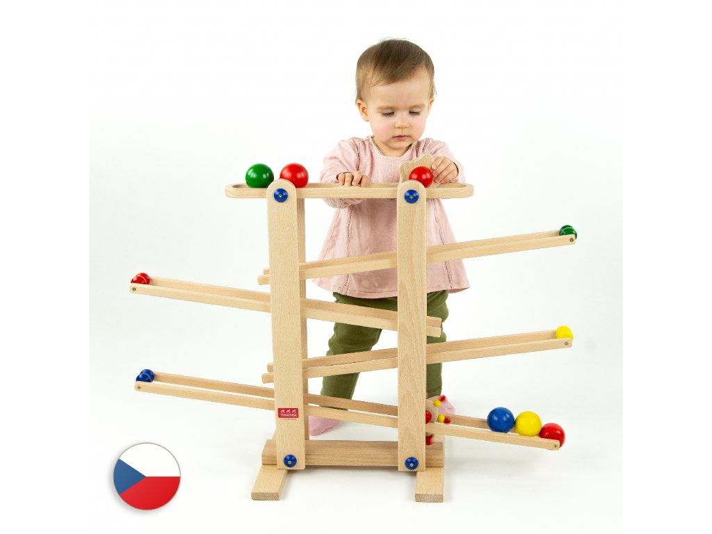 Trihorse.cz: originální dřevěné hračky, dřevěný koník, dětská židlička, odrážedla