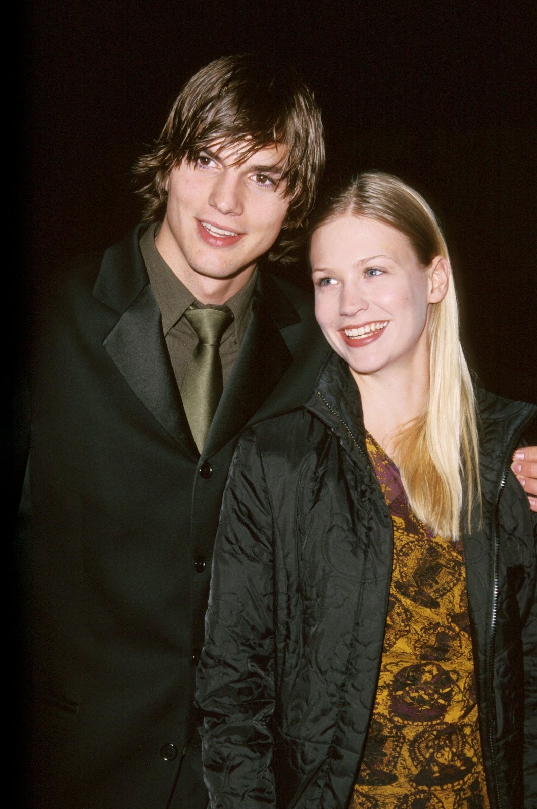 Description: Image result for ashton kutcher and january jones