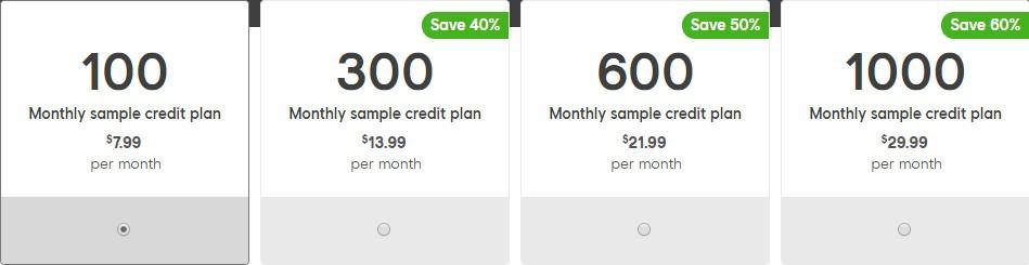 splice cloud sample service pricing