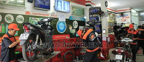 Lưu ý giúp rửa xe máy chuyên nghiệp